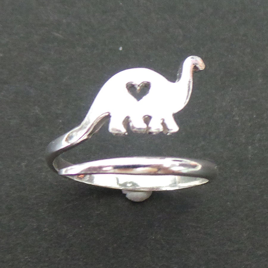 rings animal wrap around to cute triceratops prehistoric silver original dinosaur sizes shape in products us hug ring size