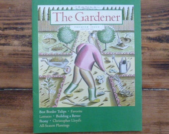 The Gardener Magazine--11 Issues Including Premier Issue of April/May 2001