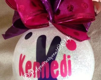 Personalized Christmas Ornament!