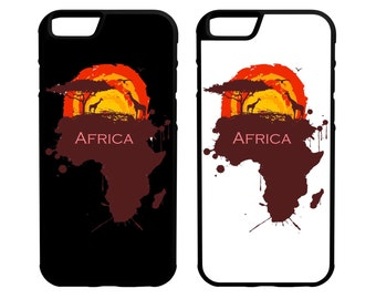 Africa iPhone Galaxy Note LG HTC Hybrid Rubber Protective Case