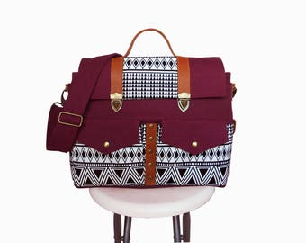 Violet red Messenger Bags/Diaper bag/Diaper baackpack/Handbags/Bags&Purses/School Bag/Bag/Backpack/Shoulder Bags/Crossbody Bags/shoulder bag
