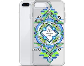 iPhone Case your vibe attracts your tribe