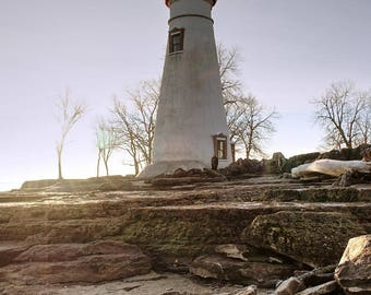 Lighthouse print (Vertical print)