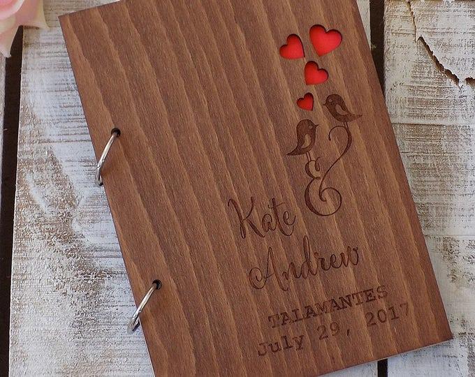 Wedding Guest Books - RusticLoveandWood