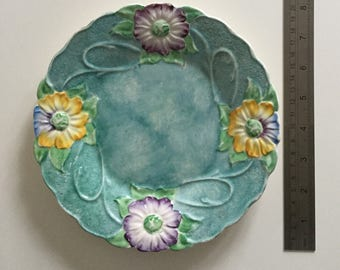 Vintage James Kent #1130 Majolica Plate