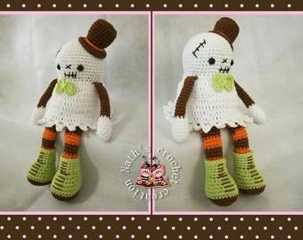 Decorative Halloween small fantômette model Puffy Angel
