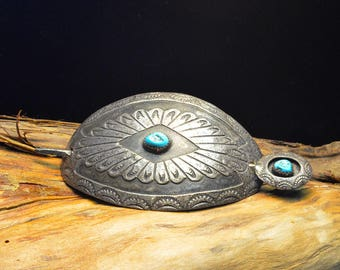 Native American Navajo Hair Jewelry