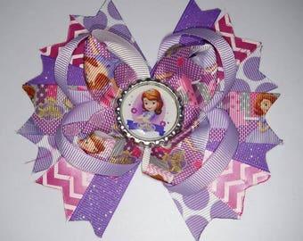 Princess Sofia the 1st Hair Bow
