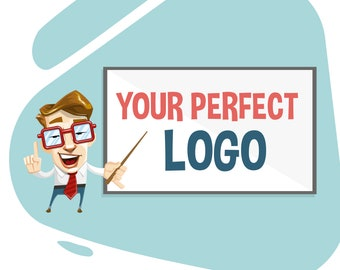 5 Start Satisfaction Rate Services, Logo Design with Unlimited Revisions, Fast Turn Around