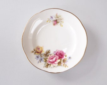 Vintage small floral plate