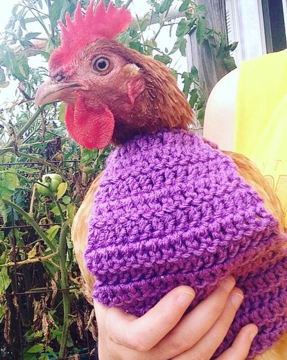 Crochet Pattern Crochet Chicken Sweater Pattern With Crew