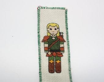 Elf ranger bookmark cross stitch