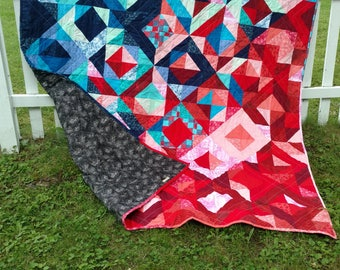 Full-bed size fire and ice quilt *sale*