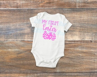 First Easter- Baby's first- Baby boy- Baby girl- Baby Easter outfit- Baby Easter top- Easter outfit- Easter- Baby's first Easter- bodysuit