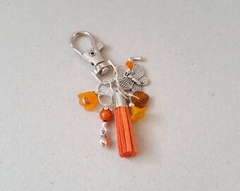 Flower key Orange