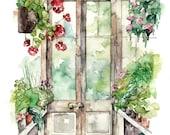 Greenhouse Painting - Pri...