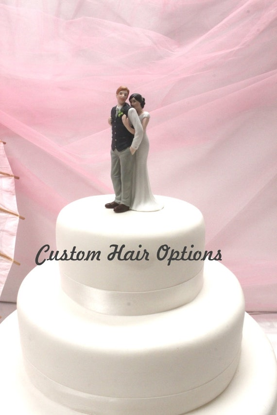 personalized wedding cake topper canada custom wedding cake topper and groom sweet embrace 18280