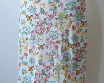 Christian Dior made in France Butterfly Skirt