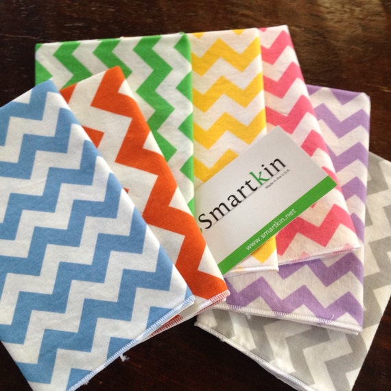 Any Color Chevron Cloth Napkin by Smartkin