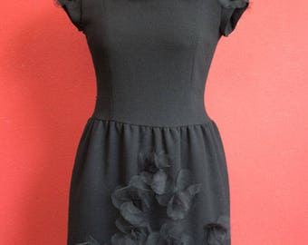 Cheap and Chic by Moschino Black dress size 44 Made in Italy Vintage