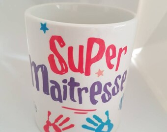 Personalised end of school year mug