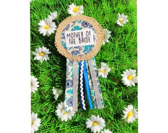Mother Of The Bride Hen Party Badge