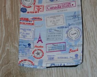 Passport Case Stamp