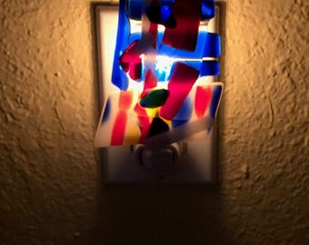 Fused Glass Nightlight