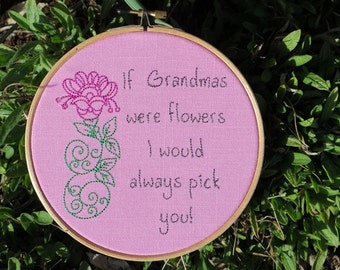If Grandmas were Flowers