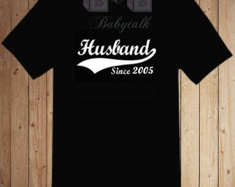 Husband Shirt, Husband Personalized Shirt, Custom Wedding Gift, Anniversary gift