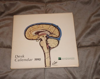 Summit Pharmaceuticals Desk Calendar 1990
