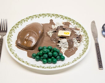iLoaf & Mashed Pea Brains | Food For Thought Sculpture