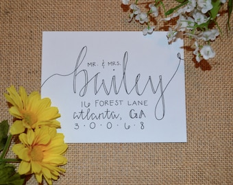 Handwritten Envelopes || Envelope Addressing