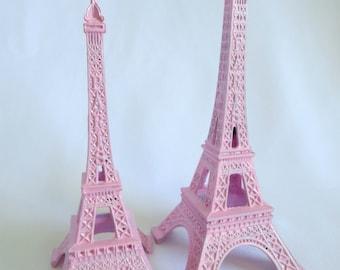 Pink Eiffel Tower, Eiffel Tower Cake Topper, Eiffel Tower,  Paris, French, Pink, Decoration, Home Decor, Party Decor,  Paris Party