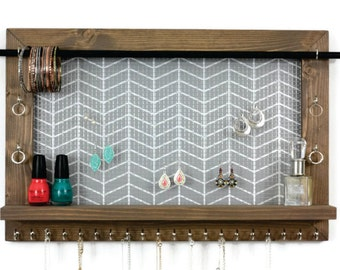 Jewelry Organizer Shelf - Jewelry Holder