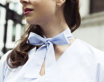 Women's Business Shirt with Bow