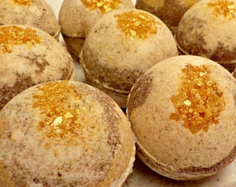 Twice Is Nice - Bubblin' Bath Bomb Fizzy, handmade with Avocado Oil, Soothing Suds Bath & Body