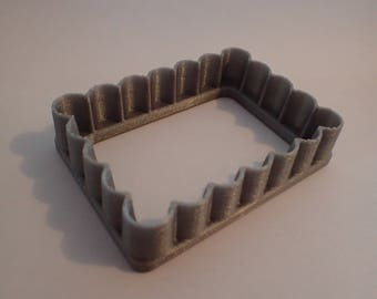 Cookie cutter type biscuit