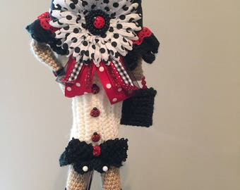 Crochet golf club cover, golf head covers, golf crochet, club cuties