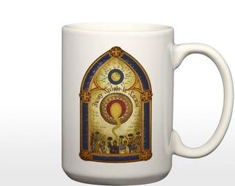 Every Sperm is Sacred (Monty Python Parody) 15 oz Coffee Mug