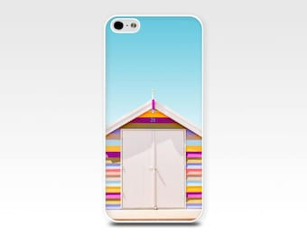 beach iphone 6 case iphone 6s case beach theme iphone case 5s nautical iphone  case 4s beach scene iphone case photograph pink blue