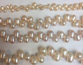 Genuine fresh water Dancing pearls in various sizes