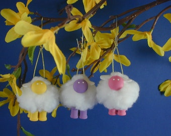 Spring Sheep/Lamb Ornament for your Easter Egg Tree; Sheep for Easter Egg Tree