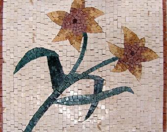Azulejo mosaico Floral amarillo patrones - Lys
