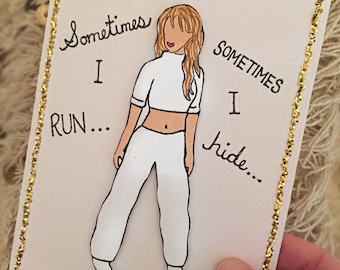 "Britney Spears ""Sometimes"" Card"