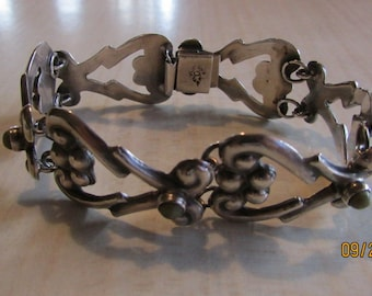 Sterling Silver Link Bracelet From Mexcio