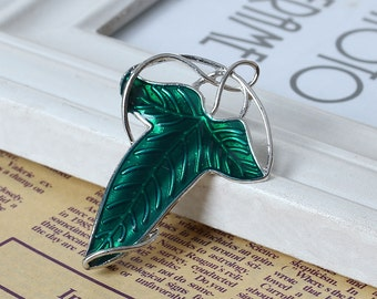 Lord Of The Rings Leaf Pendant/Brooch/Pin - Leaves of Lorien/Elven - Sold Individually - #B179