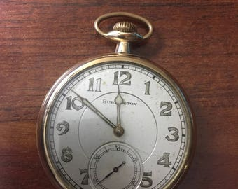 1921 Burlington Pocket Watch
