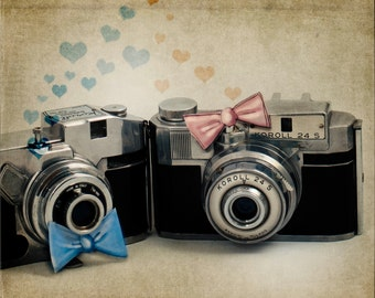 Shabby Chic, Vintage Italian Camera, Still Life, Fine Art, Antique Camera, Collectors, Love, Camera Love, Magaly Burton