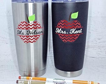 Teacher Gift, Teacher Appreciation Gift, Personalized Teacher Gift, Teacher, End of the Year Gift, Teacher Travel Mug, Gifts for Teacher